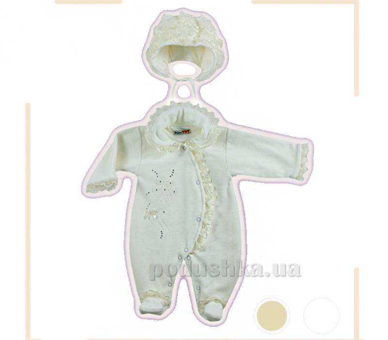 Комплект 2-х предметный с органзой Baby Life 627