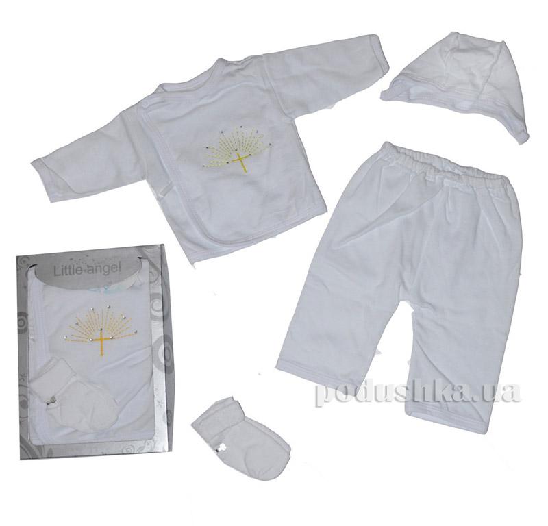 Комплект детский для крещения 4 предмета Little Angel НБ2 6