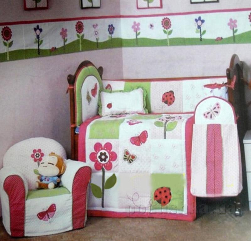 Комплект детский для кровати Arya 5 Пр. Cy 2021 Butterfly
