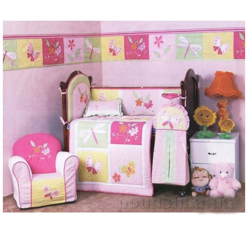 Комплект детский для кровати Arya 5 Пр. Cy 3908 Beetle