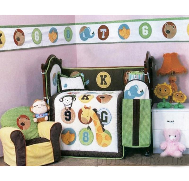 Комплект детский для кровати Arya 5 Пр. Cy 966 Animals