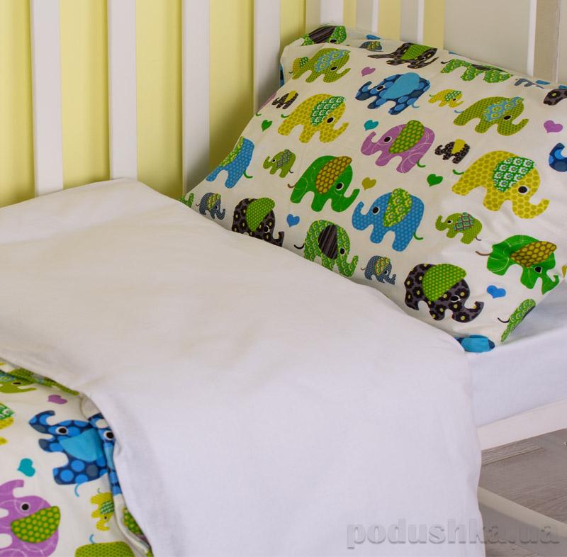 Комплект детского белья SoundSleep  Cartoon elephantRan-101-1