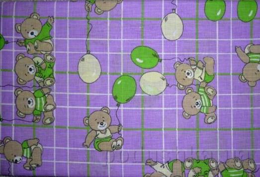 Комплект детского постельного белья из льна 10С566-ШР