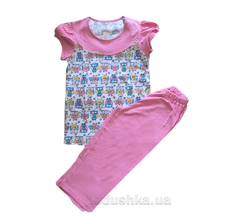 Комплект для девочки МТФ 4434 розовый