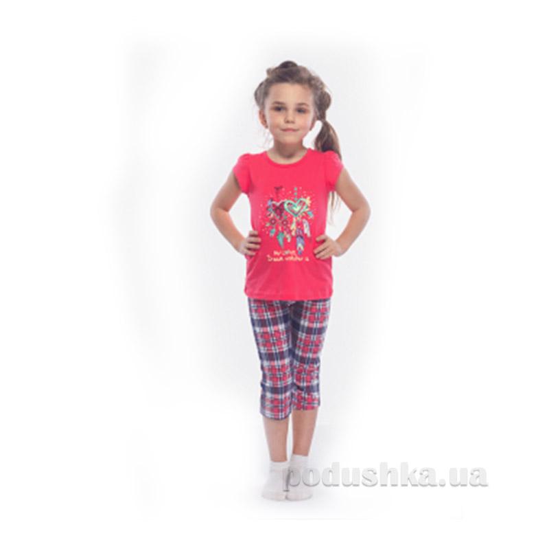 Комплект для девочки МТФ 00350 П коралловый