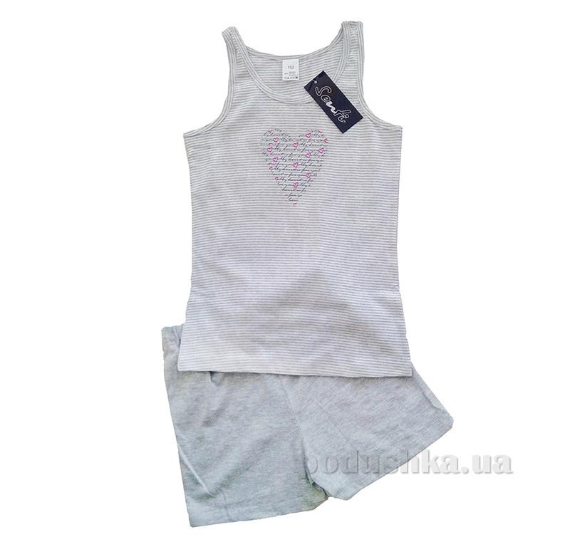 Комплект для девочки Senti серый 110806