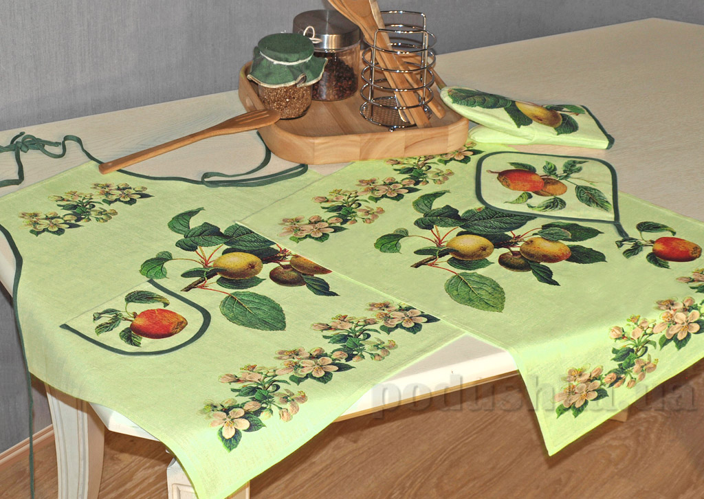 Комплект для кухни женский 10с263-ШР Фрутовый сад