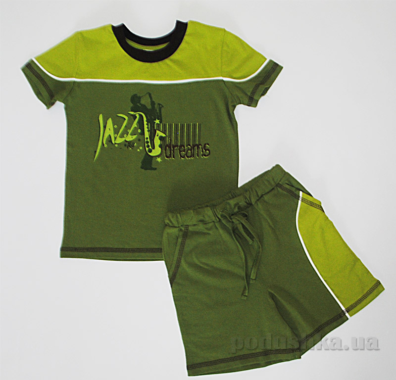Комплект для мальчиков Senti 131012 зеленый