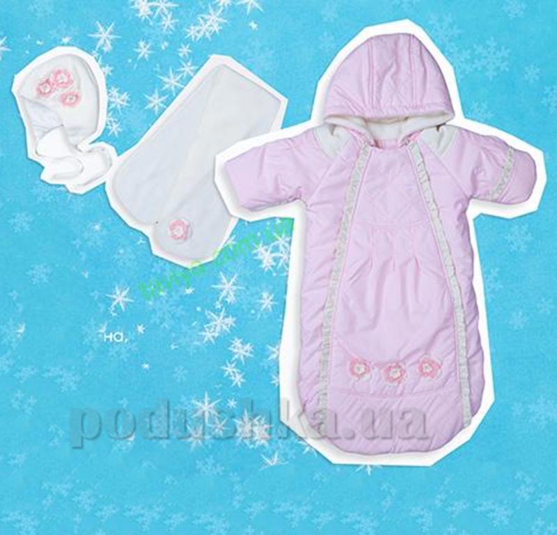 Комплект для новорожденной девочки КП133 Bembi