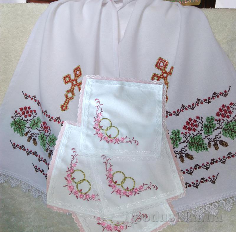 Комплект для венчания Украина Дуб и калина СДК-110