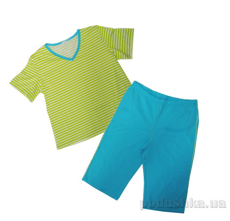 Комплект для женщин Senti 090805 салатово-голубой