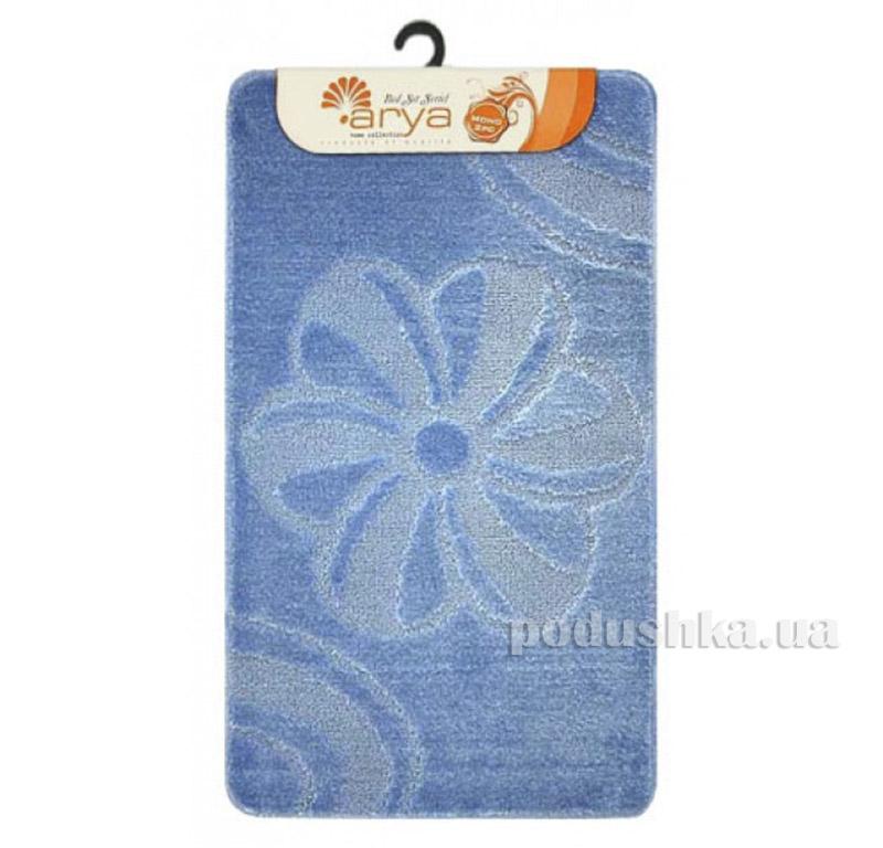 Комплект голубых ковриков для ванной комнаты Mono Arya 1380077