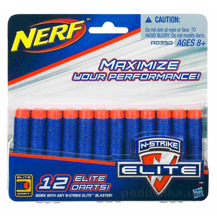 Комплект из 12 стрел для бластеров Nerf Hasbro A0350