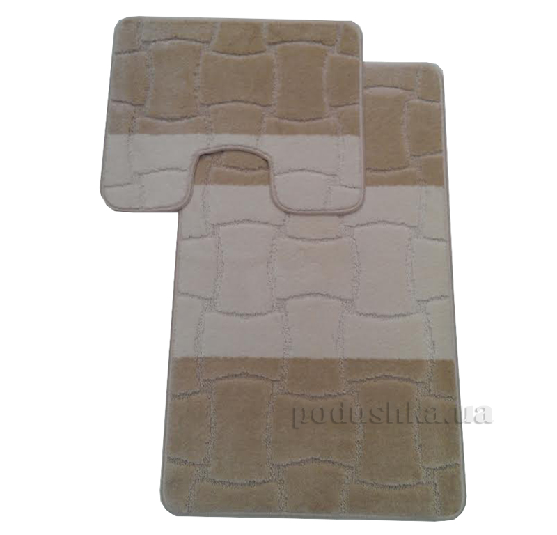 Комплект ковриков в ванную Multi Г-13-kovrotex
