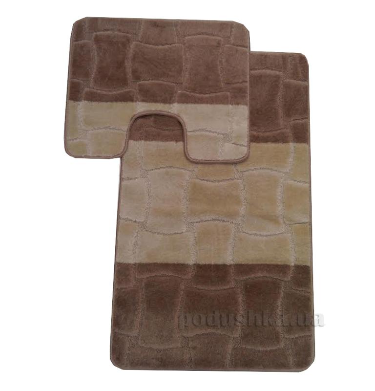 Комплект ковриков в ванную Multi Г-15-kovrotex