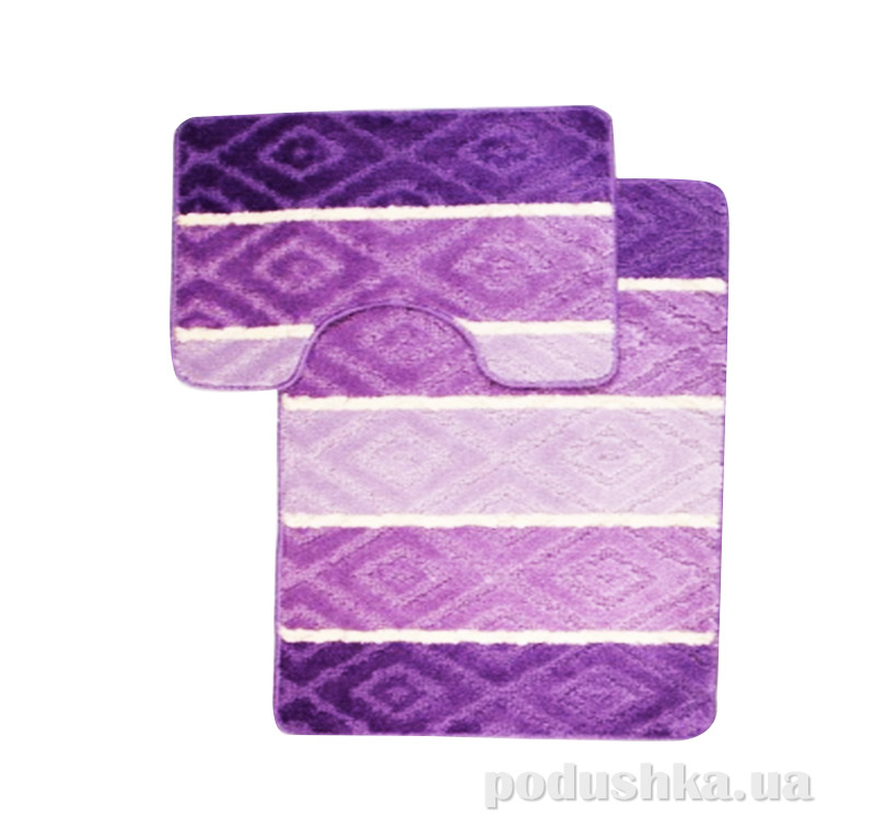 Комплект ковриков в ванную Multi Г-5-kovrotex