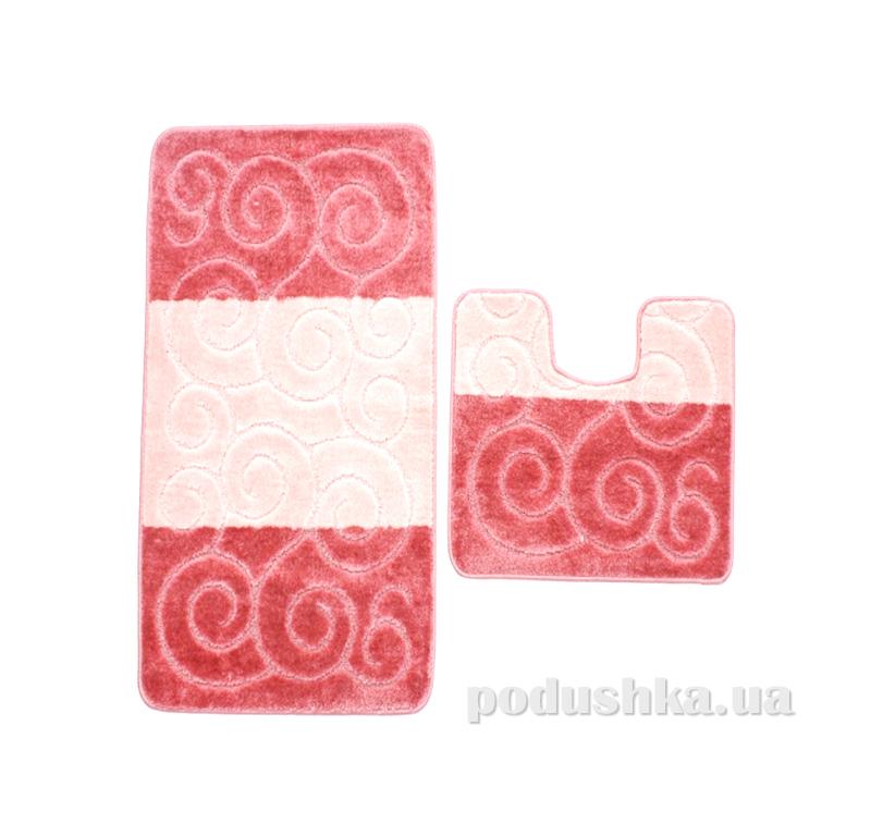 Комплект ковриков в ванную на резиновой основе г-10-kovrotex