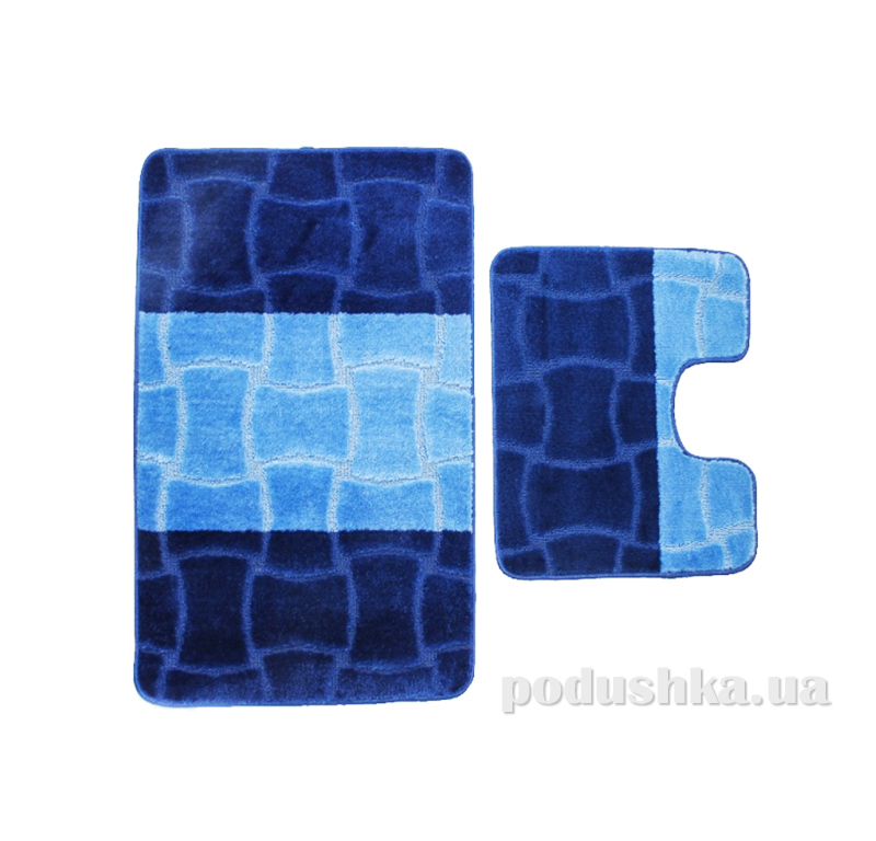 Комплект ковриков в ванную на резиновой основе г-11-kovrotex