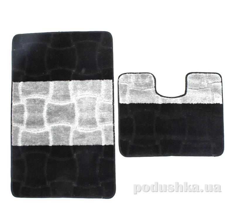 Комплект ковриков в ванную на резиновой основе г-14-kovrotex