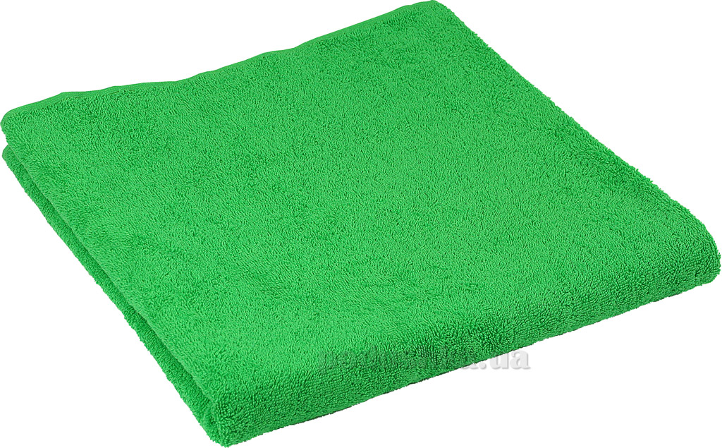 Комплект махровых полотенец Руно зелёный
