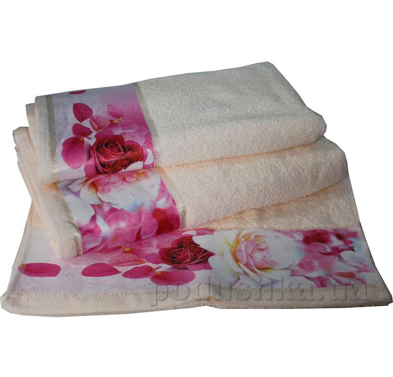 Комплект полотенец Романтика Нежность крем-брюле