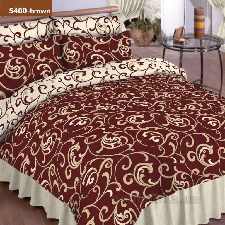 Постельное белье Вилюта 5400 коричневый