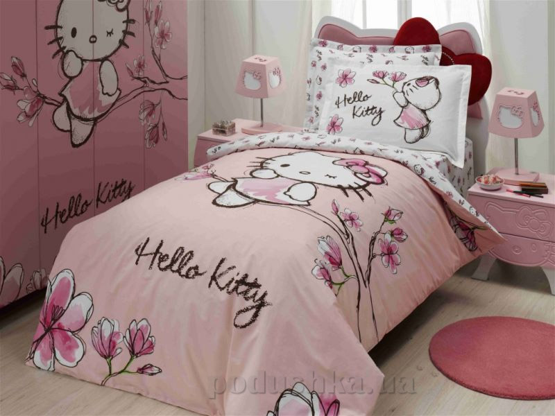 Постельное белье Altinbasak Hello Kitty Magnolia