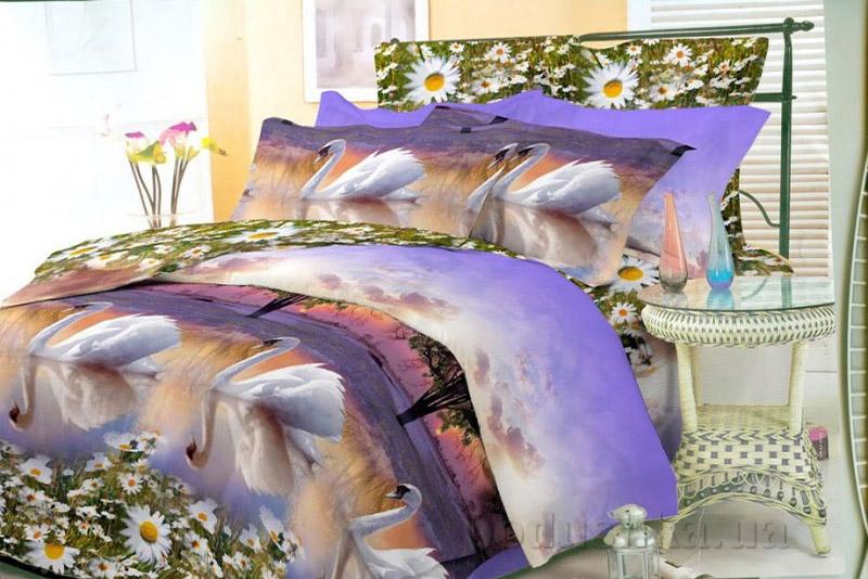 Комплект постельного белья Amore Bonito ранфорс