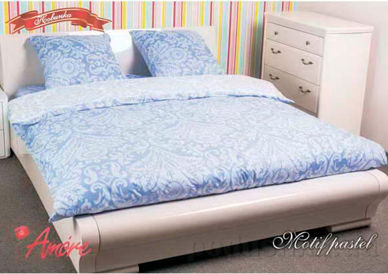 Комплект постельного белья Amore Motif pastel Поплин