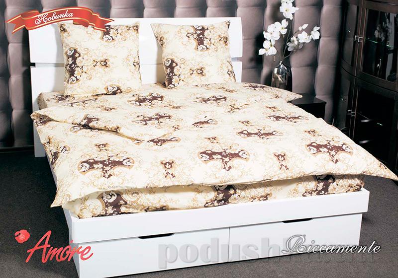Комплект постельного белья Amore Riccamente бязь голд