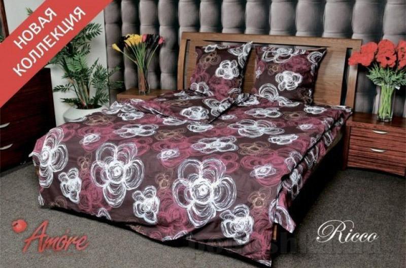 Комплект постельного белья Amore Ricco бязь