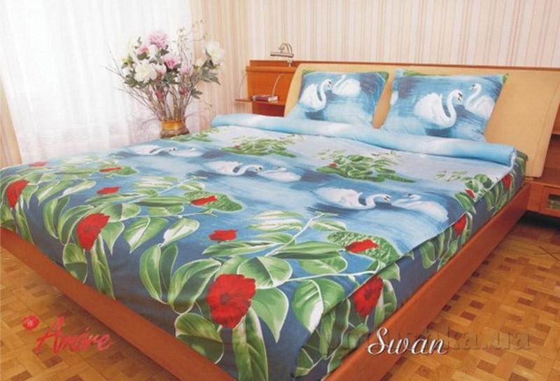 Комплект постельного белья Amore Swan бязь