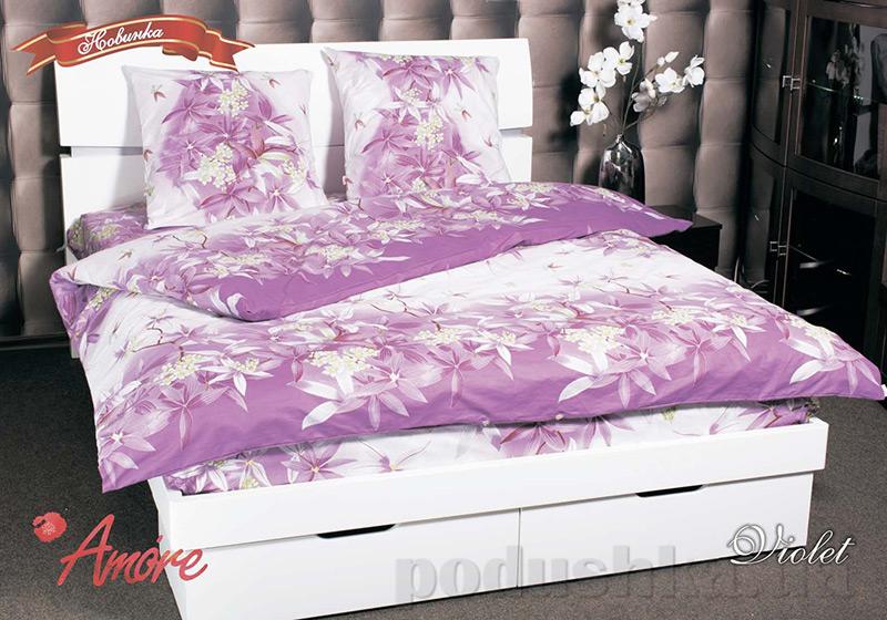 Комплект постельного белья Amore Violet бязь голд