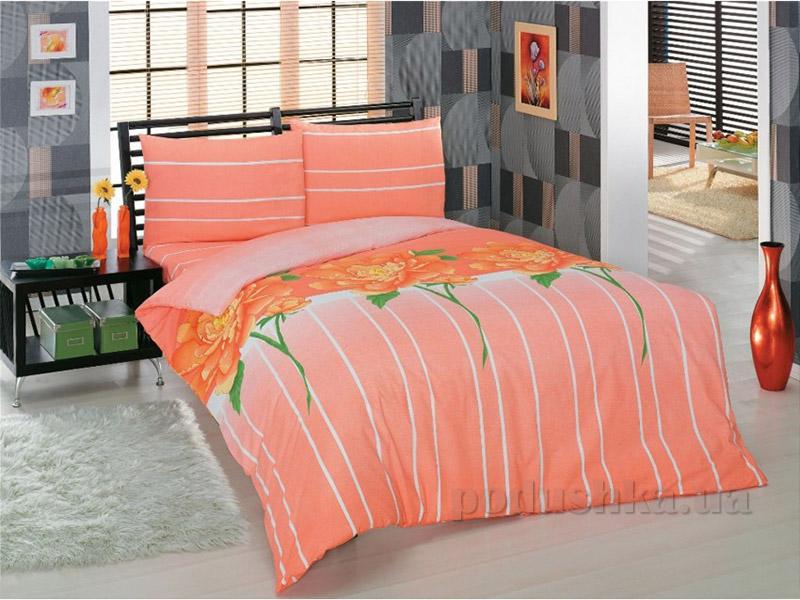 Комплект постельного белья Classi Adele Arya персиковый