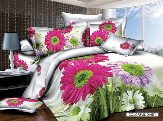 Постельное белье Arya 3D Colorful daisy