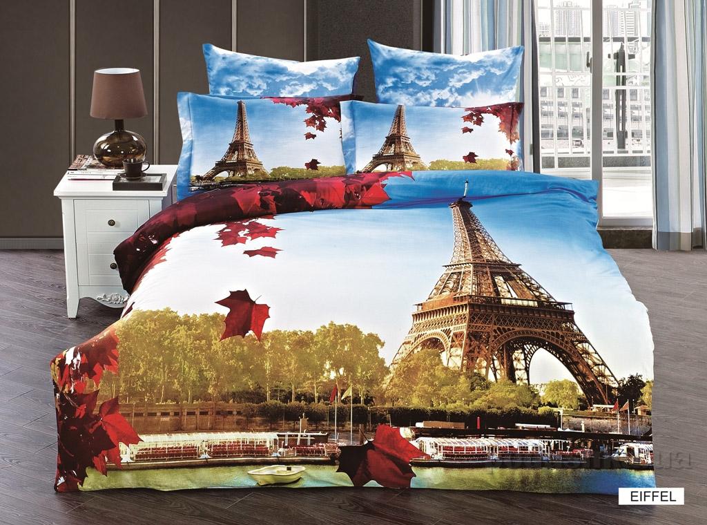Постельное белье Arya 3D Eiffel
