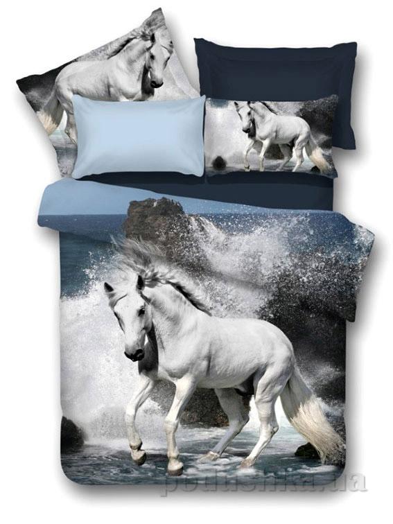 Постельное белье Arya 3D Horse beach