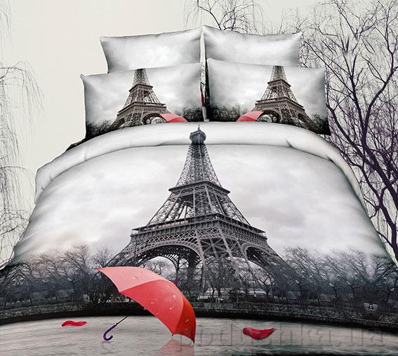 Постельное белье Arya 3D Winter Paris