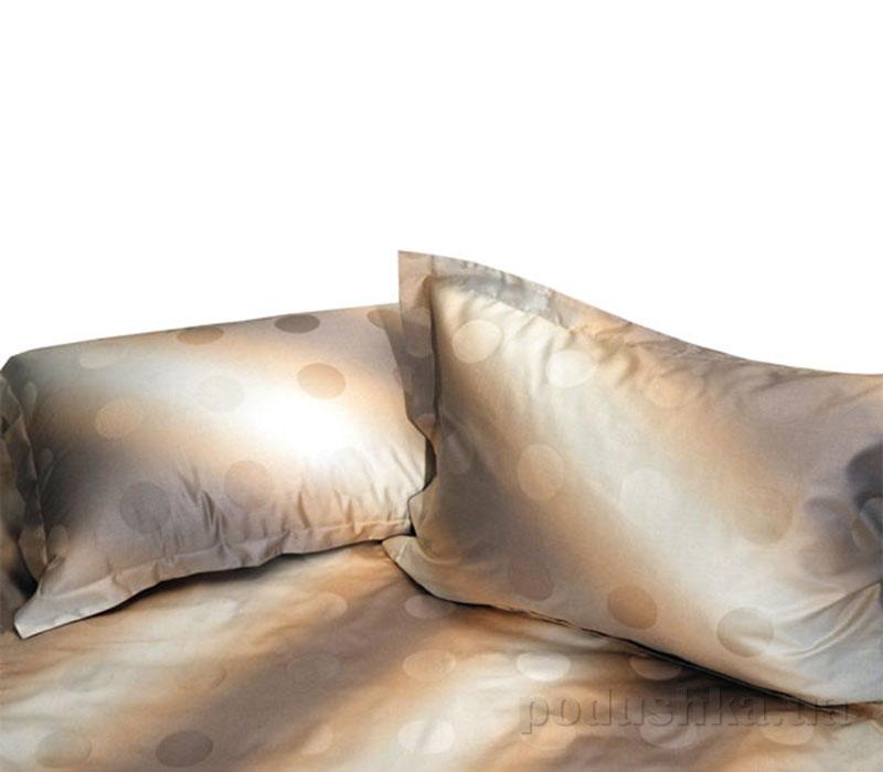Постельное белье Биллербек коричневые круги