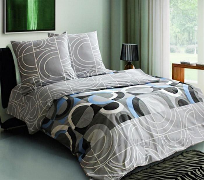 Постельное белье Блакит Грей 4305-4306