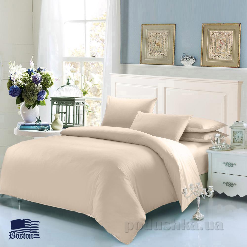 Комплект постельного белья Boston Jefferson Sateen Beige бежевый