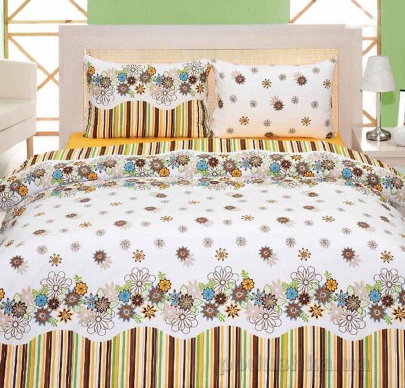 Комплект постельного белья Classi Donatus Arya 1000315 Коричневий