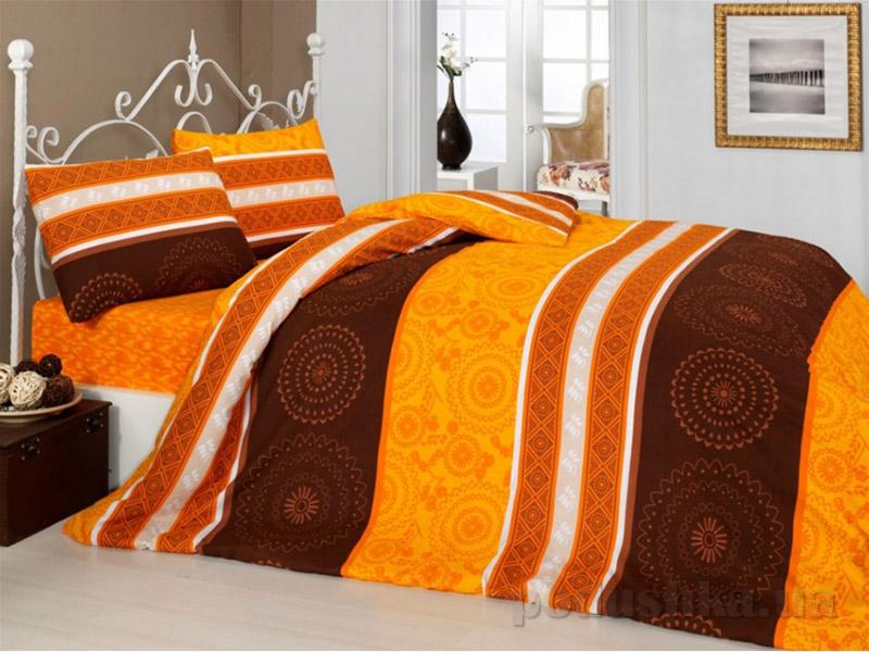 Комплект постельного белья Classi Donisha Arya 1000316 Оранжевий