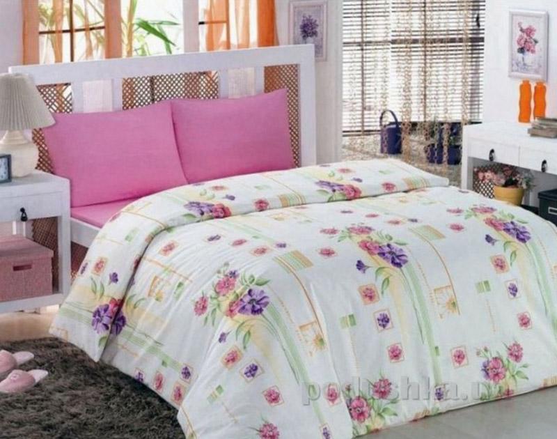 Комплект постельного белья Classi Eva Buket Arya 1000851 розовый