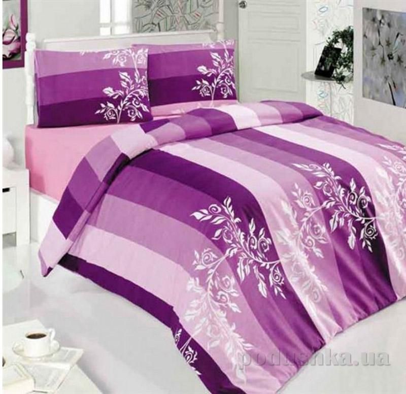 Комплект постельного белья Classi Eylul Arya 1001115 сиреневый