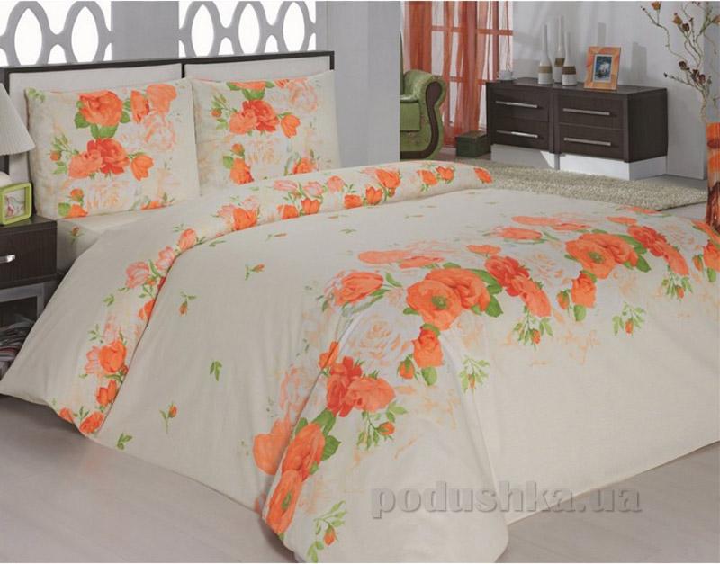 Комплект постельного белья Classi Flora Arya 1000860 Оранжевый