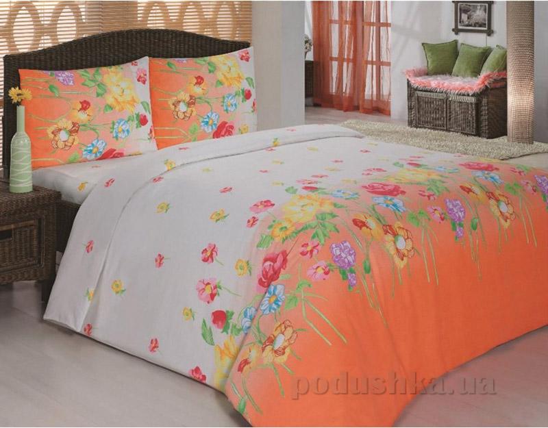 Комплект постельного белья Classi Gardenia Arya 1000855 Оранжевый