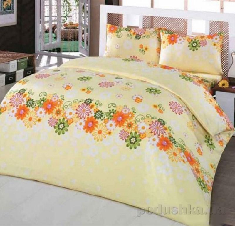 Комплект постельного белья Classi Gulcan Arya 1001117 желтый