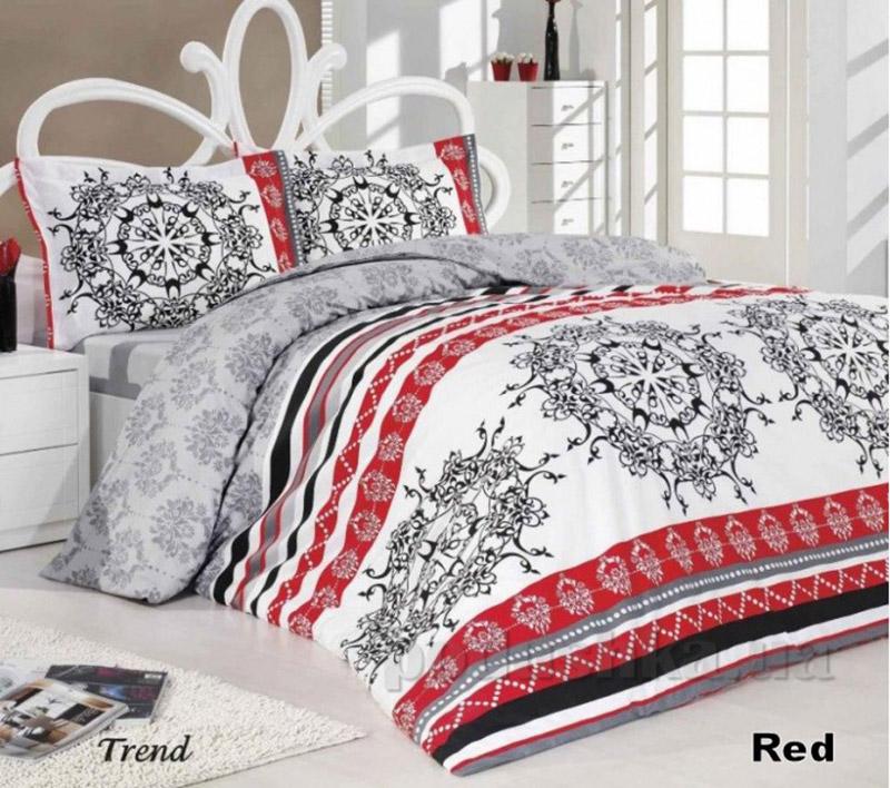 Комплект постельного белья Classi Sancia Trend Arya 1000325 красный