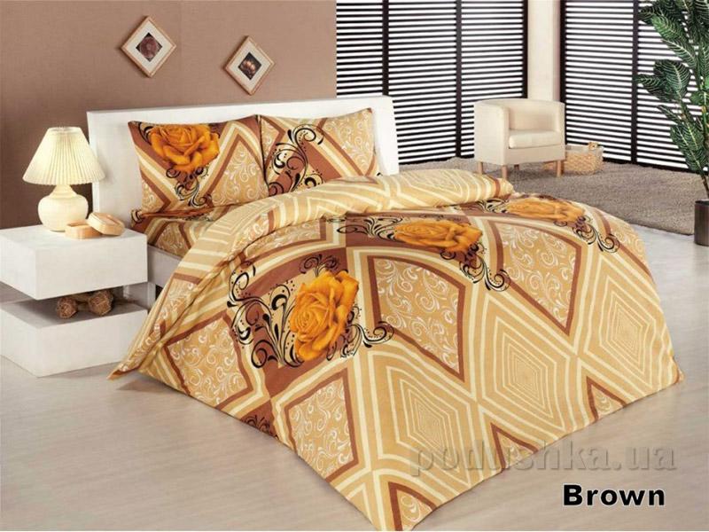 Комплект постельного белья Classi Selin Arya 1001122 коричневый